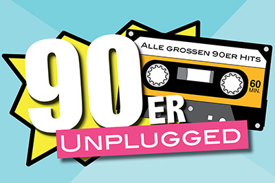 90er unplugged - Logo
